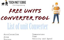 Free Engineering Unit Converter