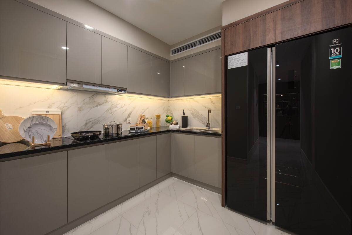Phòng bếp dự án King Palace