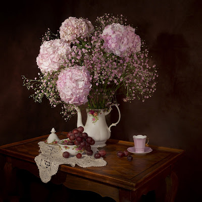 A Teapot, Flowers, Livng From Glory To Glory Blog...