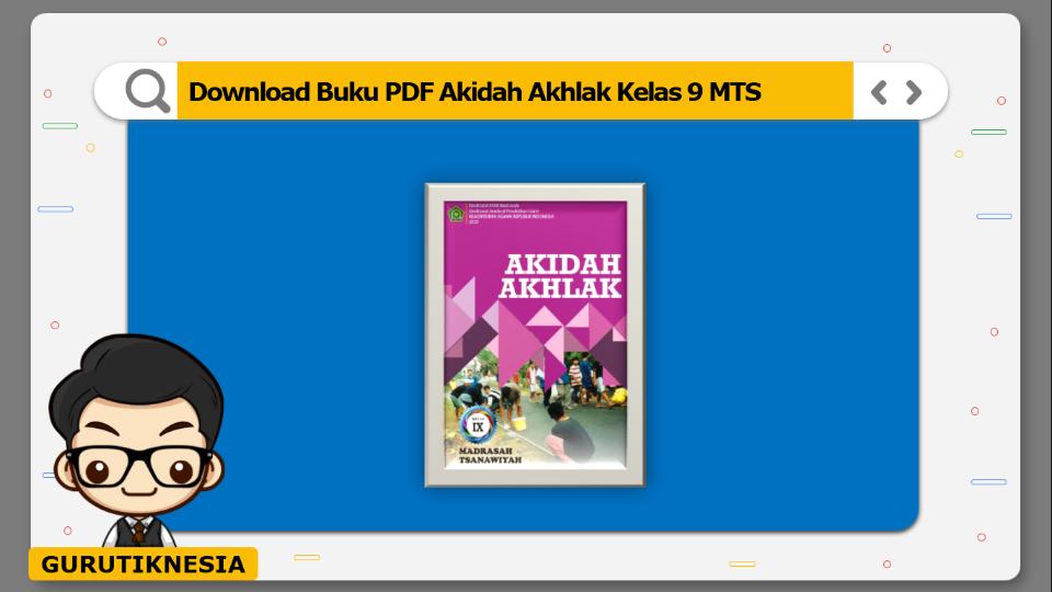 download buku pdf akidah akhlak kelas 9 mts