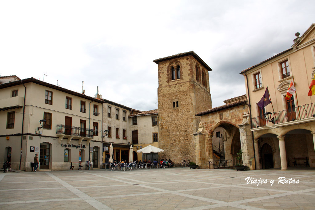 Torre e Iglesia de S Juan Bautista, Oña