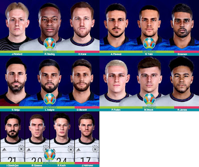 PES 2021 FacePack EURO 2020 by Yeshua