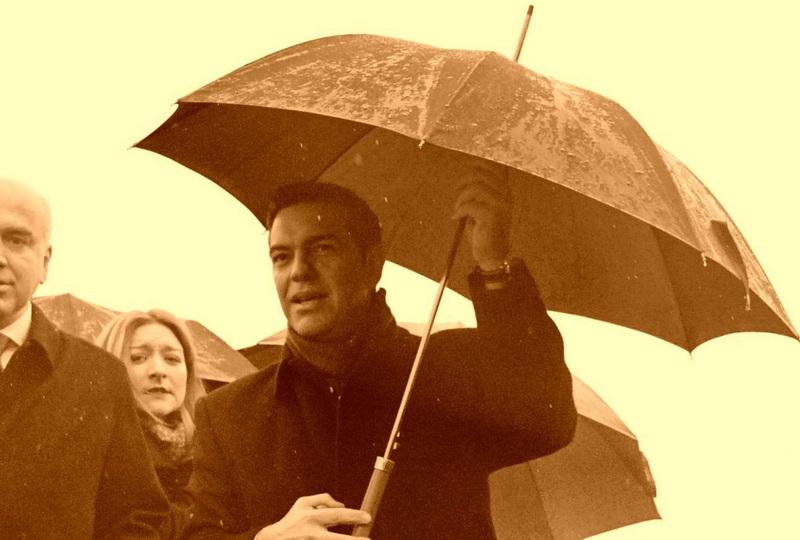 Όταν ανοίγουν «ομπρέλες» γύρω από τον Τσίπρα
