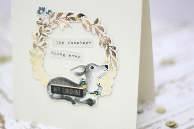 Kartenchallenge Thema Baby | Handgemachte Grusskarte zur Geburt | fuer danipeuss.de