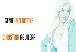 Christina Aguilera Genie in a Bottle Song Lyrics