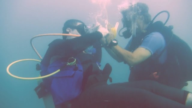 Lockwood Memorial Handicapped SCUBA Association Dive