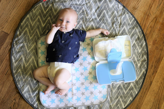On The Go Diapering Essentials
