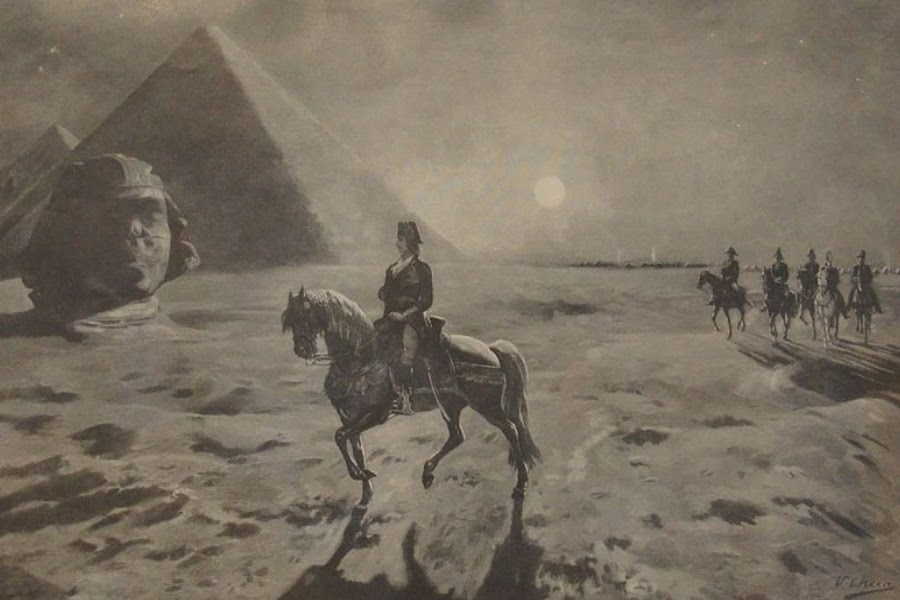 que-vio-napoleon-en-la-piramide