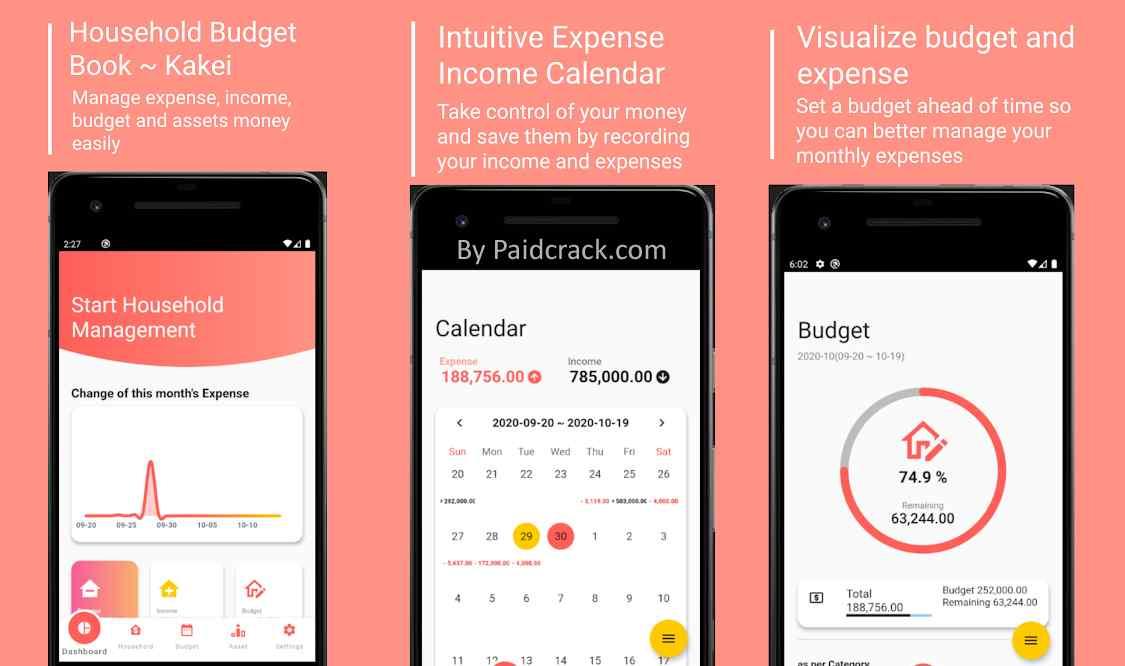 Kakei Prem: Expense, Income, Budget, Money Manager Paid Apk 1.0.9