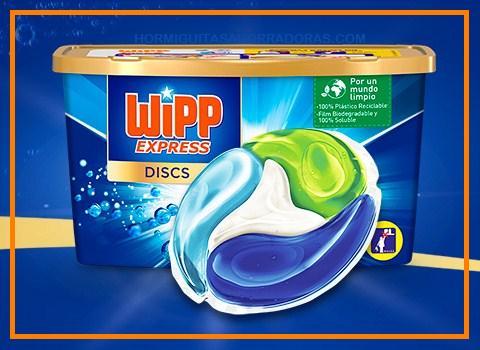 Buscan 1.000 probadores de Wipp Express Discs