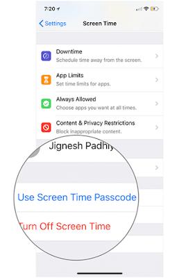 Cara Reset Password Screen Time di iOS dengan mudah