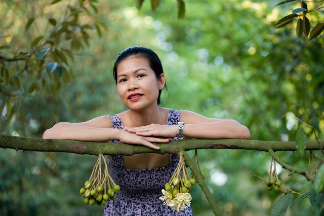 Tham quan vườn sầu riêng mùa ra hoa