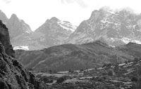 Paisaje montañoso del oriente de Asturias (archivo del autor)