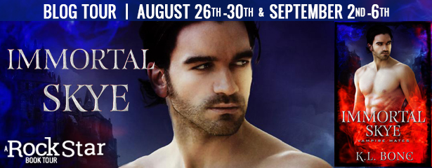 {Teasers+Giveaway} Immortal Skye by K.L. Bone