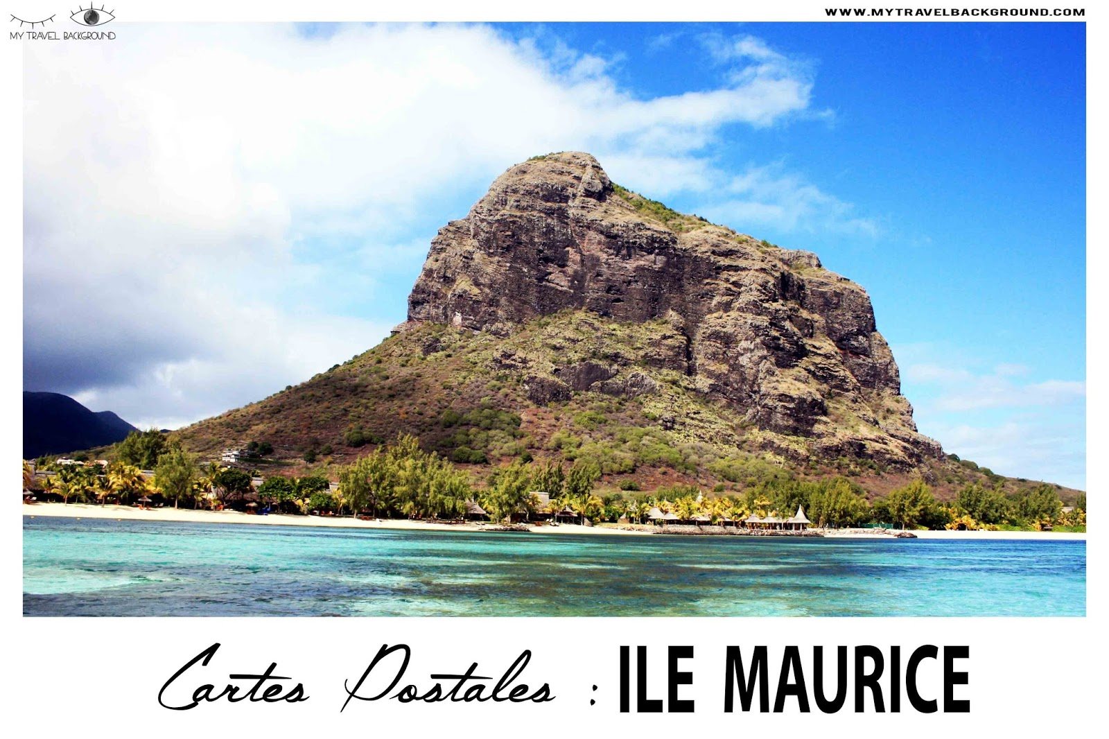 My Travel Background : Cartes Postale Ile Maurice