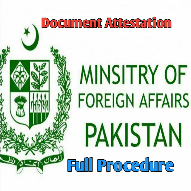 Document Attestation from MOFA (Ministry of Foreign Affairs)