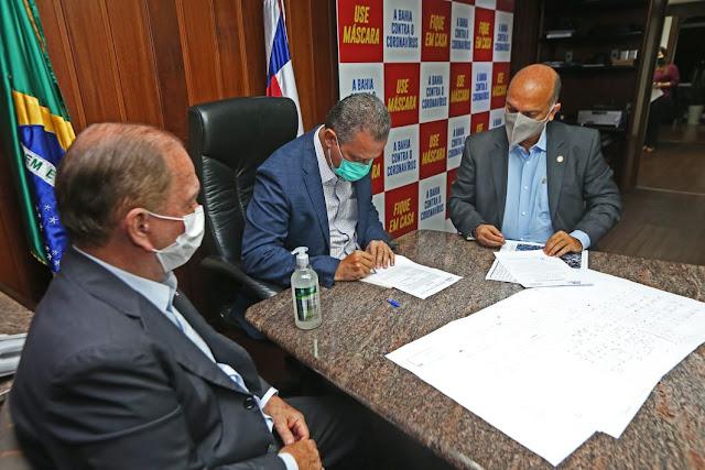 Governo do Estado autoriza ampliação de hospital em Santa Maria da Vitória