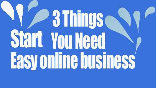 Start An Easy Online Business