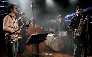 La Banda Contracuarteto se presenta en Villarrica - Chile / stereojazz