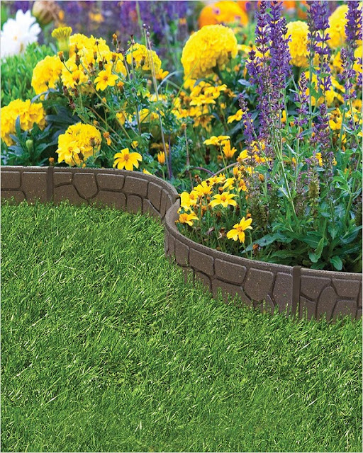 best garden border ideas with bricks pinterest