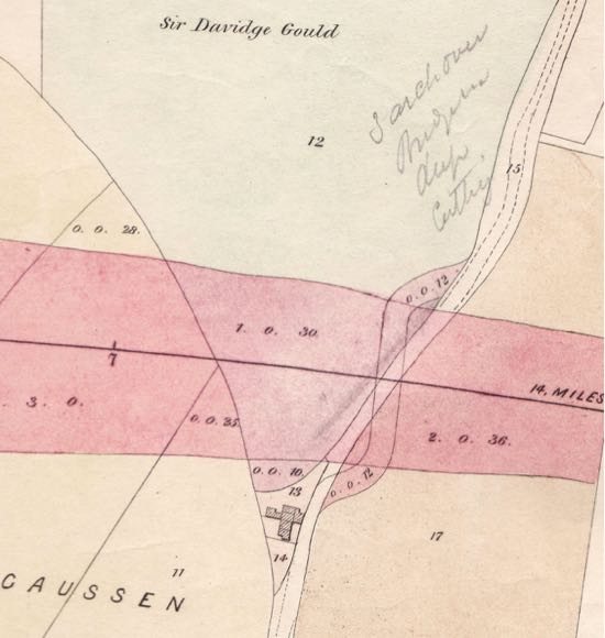 Map from the Peter Miller Collection