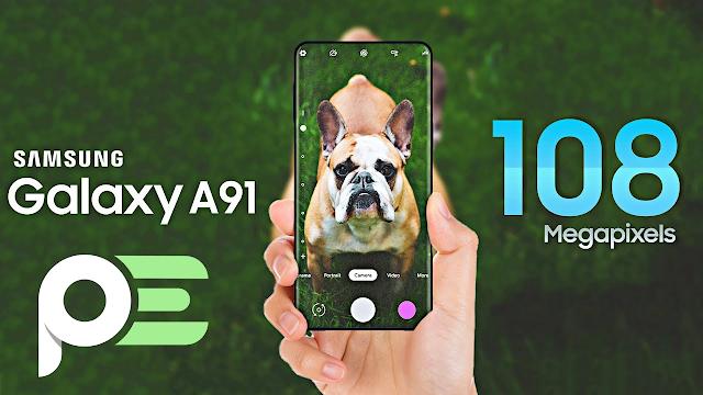 هاتف samsung galaxy A91