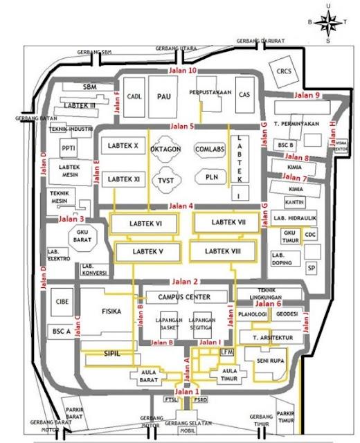 Peta ITB