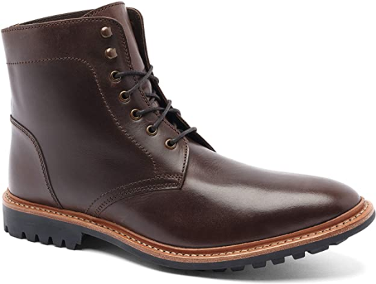 Anthony Veer Men's Lincoln Leather Thursday Boot Goodyear Welted