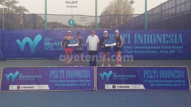 Nadia Ravita Sabet Juara Indonesia International Women's Circuit 15K