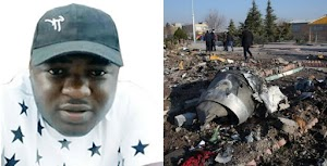 Dauda Onoruoiza, Nigerian man among 176 dead victims of Ukrainian airplane shot down by Iran (Photo)
