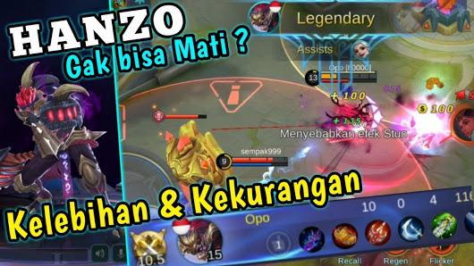 Hanzo Tidak Bisa Mati, Ini Kelebihan dan Kekurangan Hanzo Mobile Legends 1
