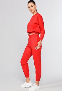 Ecko - Дамски спортен Панталон с джобове встрани