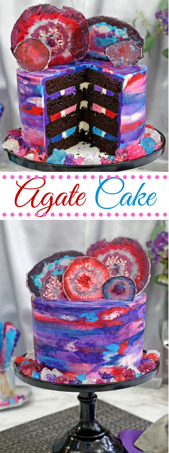 AGATE CAKE #birthdaycake #dessert