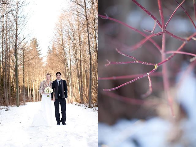 Real Weddings Winter: {Real Wedding} Sara + Reno: Winter Whistler Wedding (say