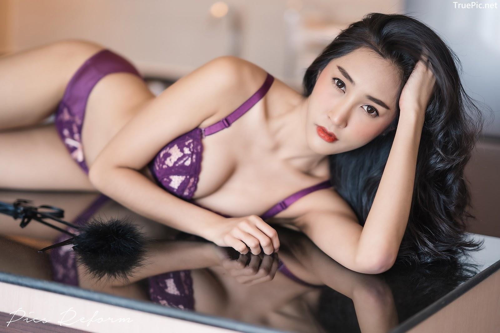 Image-Thailand-Sexy-Model-Yanapat-Ukkararujipat-Violet-Girl-TruePic.net- Picture-10