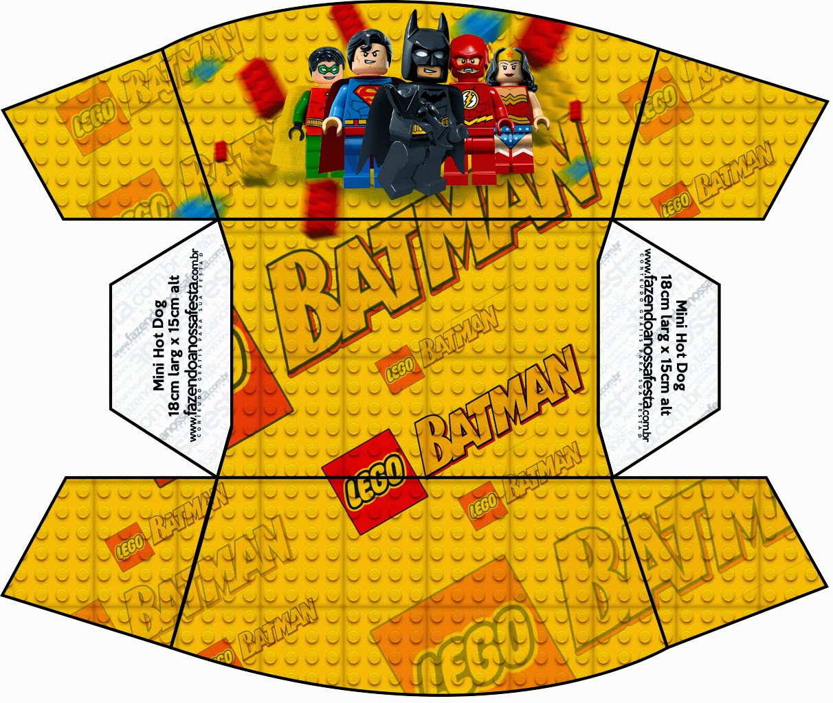 Lego Movie Free Printable Boxes