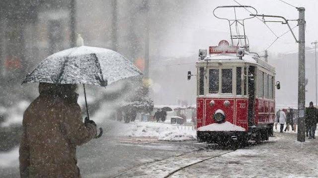 İstanbul'a kar geliyor! Kar ne zaman yağacak?