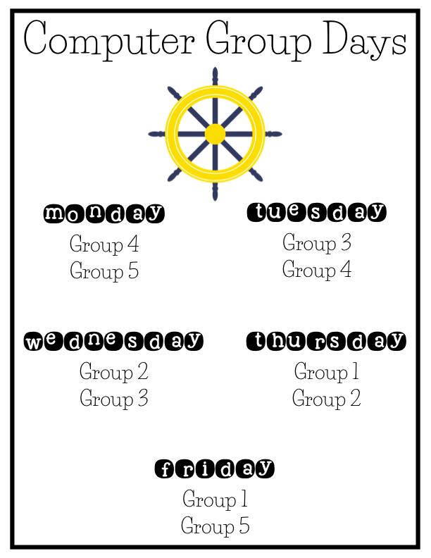 Kearson's Classroom: Weekly Newsletter