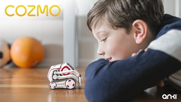 Anki launches Cozmo robot with Artificial Intelligence (AI)