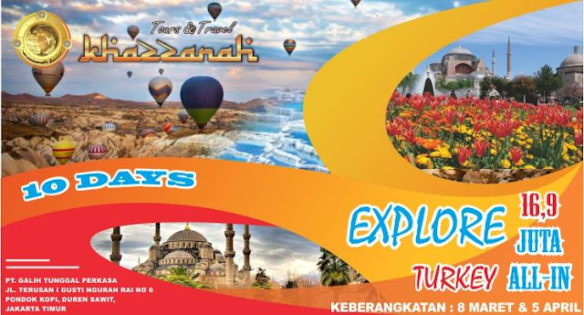 paket tour muslim halal turki