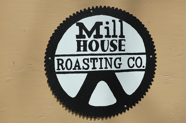 Mill House Roasting Company sign