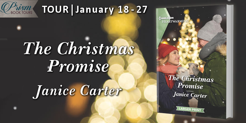 We're launching the Book Tour for THE CHRISTMAS PROMISE by Janice Carter!