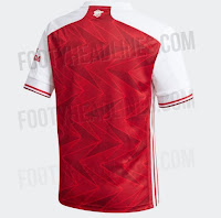 Arsenal's 2020-21 season home kit leaked online
