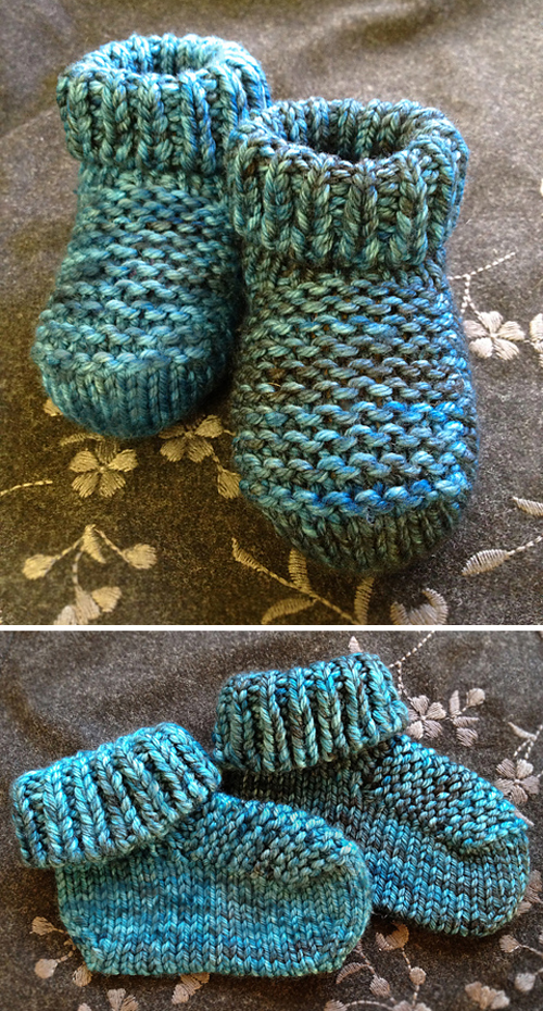 Dreamy Baby Booties - Free Pattern