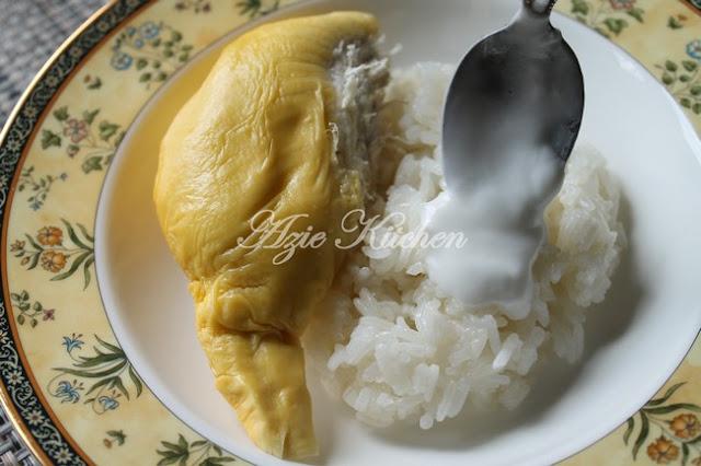 Pulut Durian Thailand