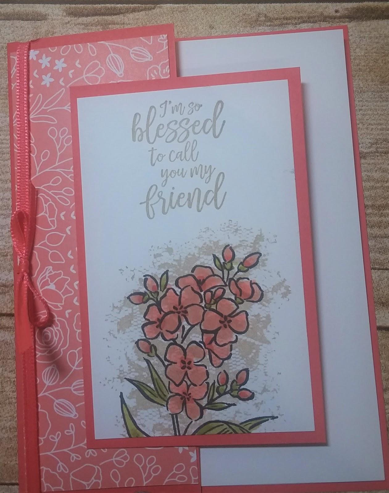 A stamping Nana\'s Blog: Southern Serenade Tri-Fold Card