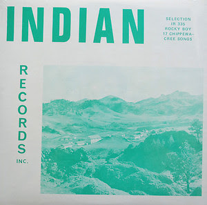 17 Chippewa-Cree (Rocky Boy) Songs, Indian Records