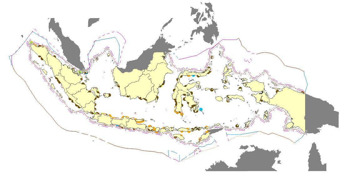 Rencana Tata Ruang Laut Nasional Format Shapefile (SHP)