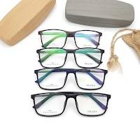 Kacamata Frame Prada (F201818) Plus Lensa Antiradiasi