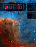 cover of the RASC Journal 2015 April